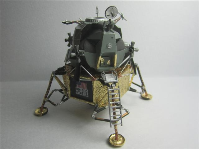Apollo Eagle - Revell - 1:100 Img_7035