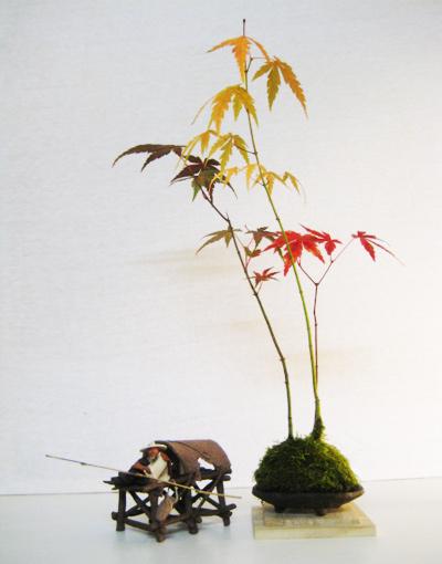 Penjing & Mudmen figures Bonsai21
