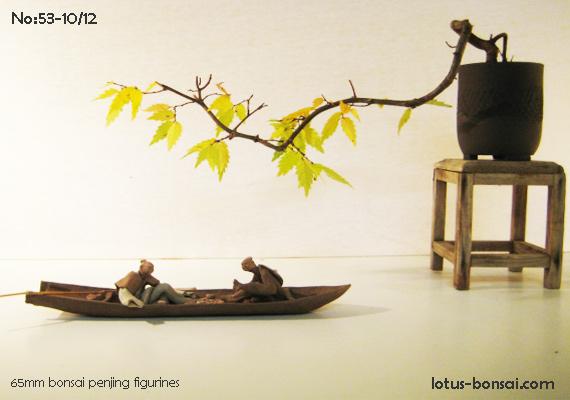 Penjing & Mudmen figures Bonsai22