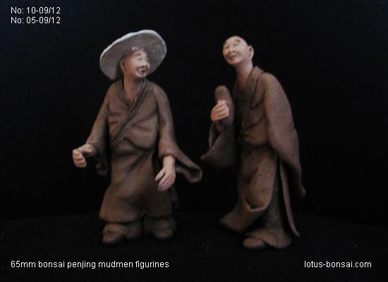 Penjing & Mudmen figures Lotus-10