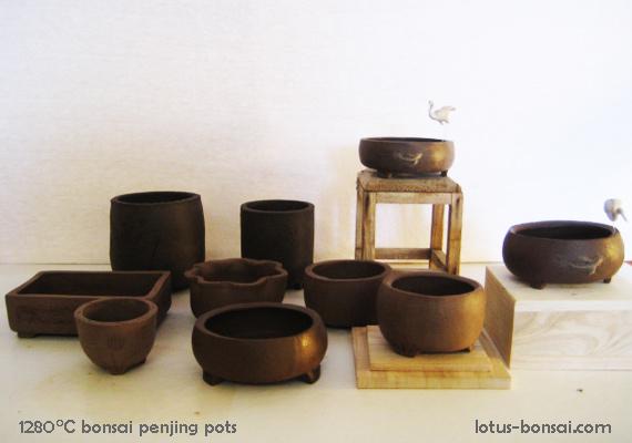 Penjing & Mudmen figures Pot-bo10