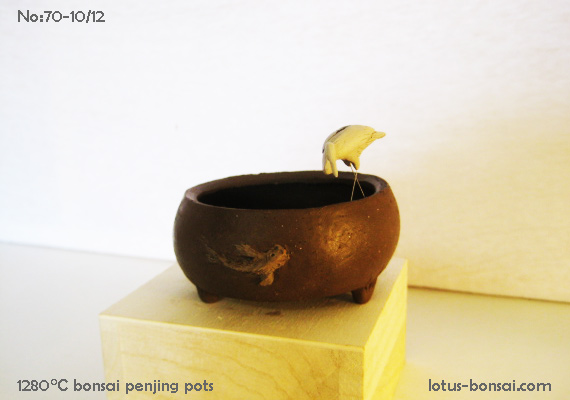 Penjing & Mudmen figures Pot-bo11