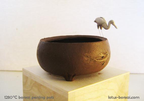 Penjing & Mudmen figures Pot-bo12