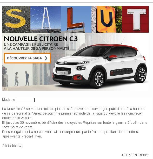 2016 - [SUJET OFFICIEL] Citroën C3 III [B618] Sans_t10