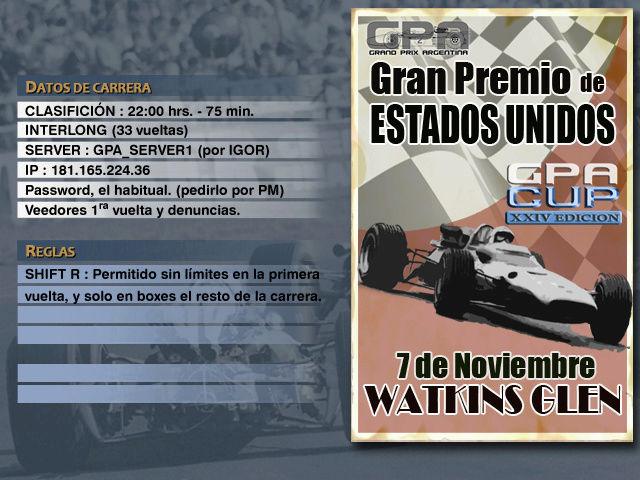CUP Edicion XXIV - Watkins Glen Anunci11