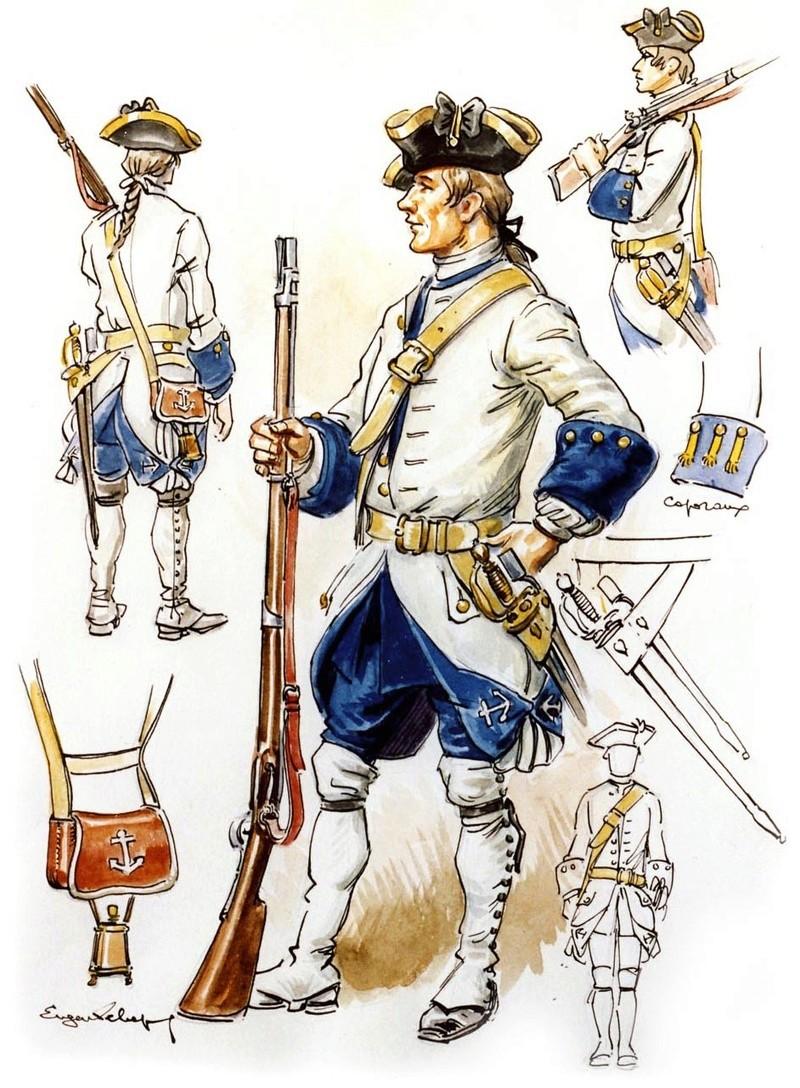 Troc à Fort Carillon 1750_s10