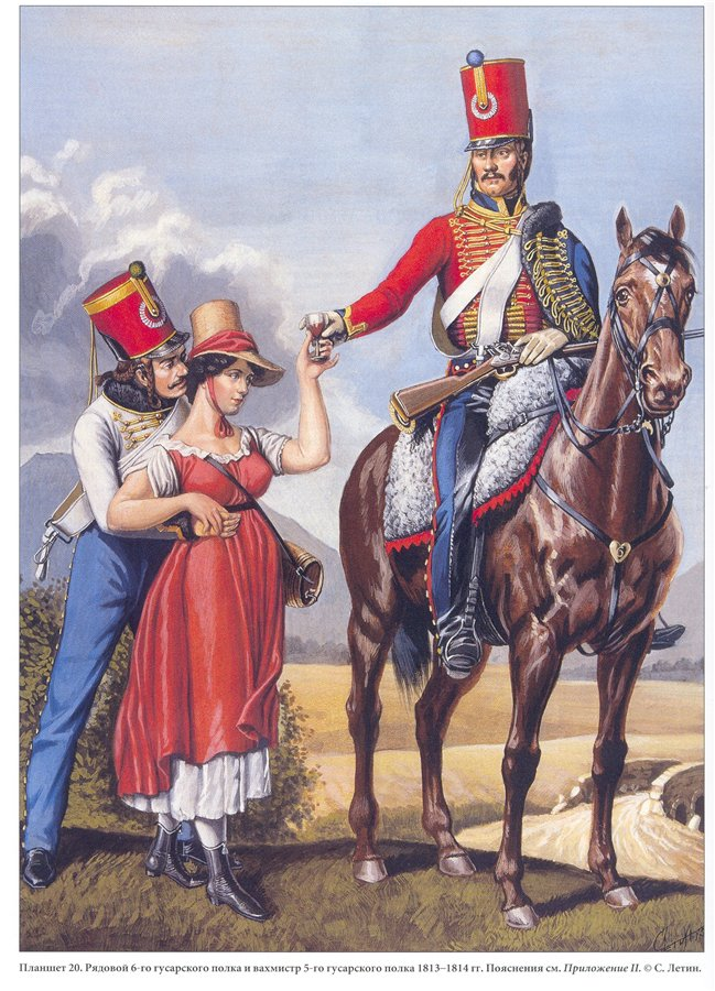 Major du 6ème Régiment de Hussards 39e87e10