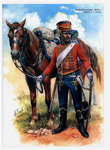 Major du 6ème Régiment de Hussards 4d10c810
