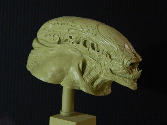 buste alien newborn 1/9 lamouline69 FINI !!! Dscn6531