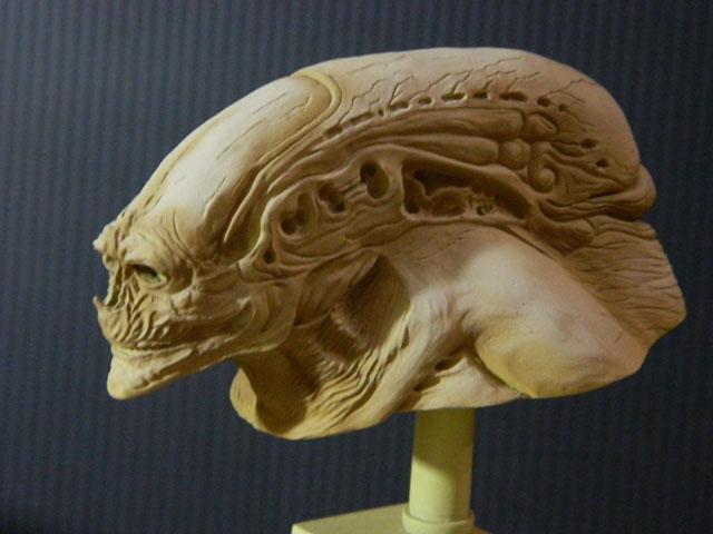 buste alien newborn 1/9 lamouline69 FINI !!! Dscn6539