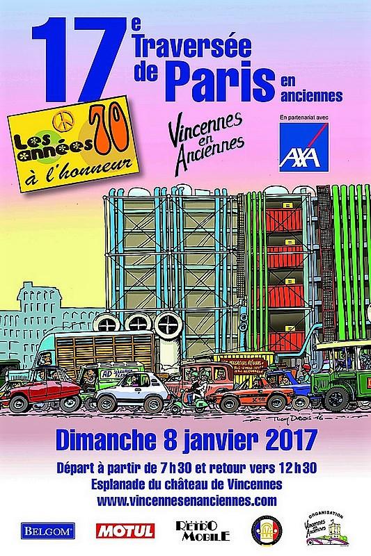 17 ème traversée de Paris en anciennes - Dim 08 Janvier 2017 31961910