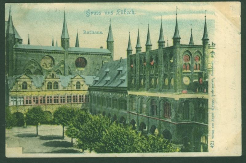 Alte Farbkarten deutscher Städte und Landschaften Ansich10