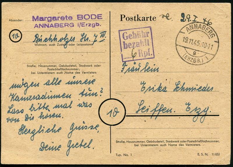Ostsachsen (OPD Dresden) -Sowjetische Besatzungszone- - Seite 11 Gebyhr11
