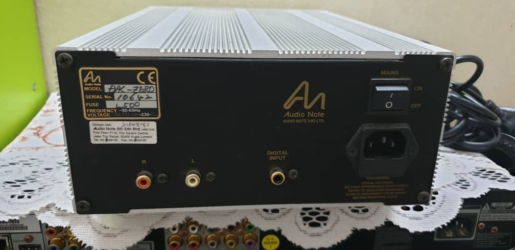 Audio Note UK DAC-ZERO (Price Revised) Img-2015
