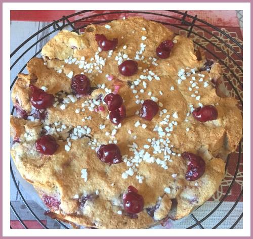 Gâteau Lorrain aux griottes Gateau10