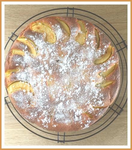 Gâteau aux pommes et au mascarpone Gateau11