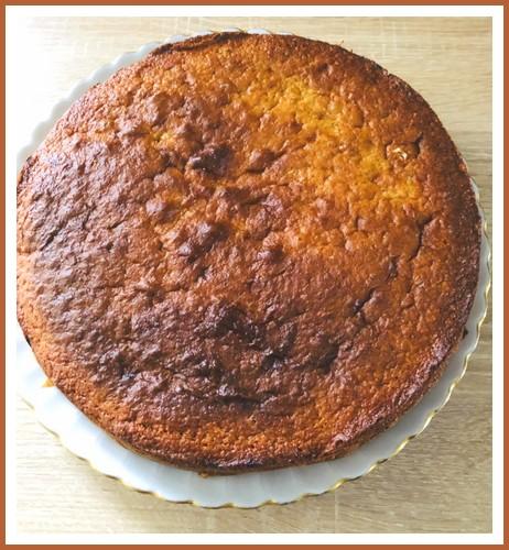 Gâteau au yaourt poires amandes Gzetea14