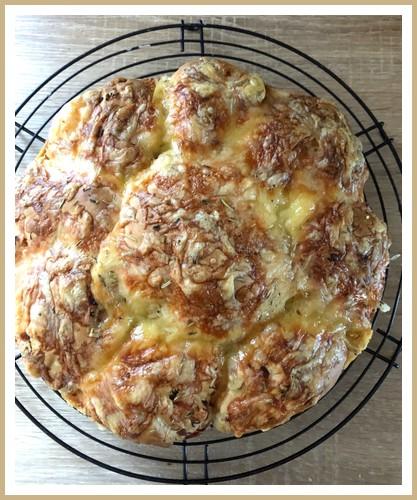 Gâteau des rois salé Gzetea16