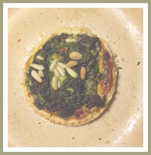 Tartelettes ricotta et épinards Tartel10