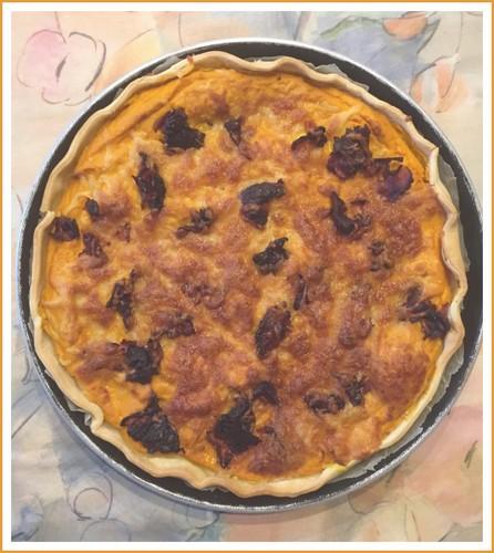 Tarte potimaron,lardons et mozzarella Thumb152