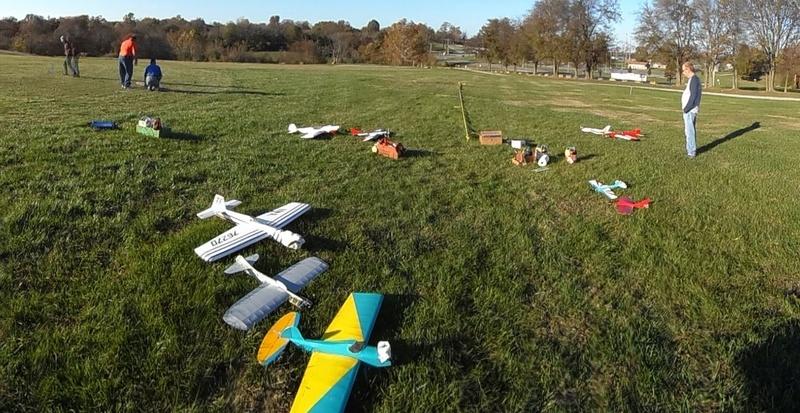 The Great November Swap Meet Heist and Control Line Mayhem at Breezy Hill! B11_10
