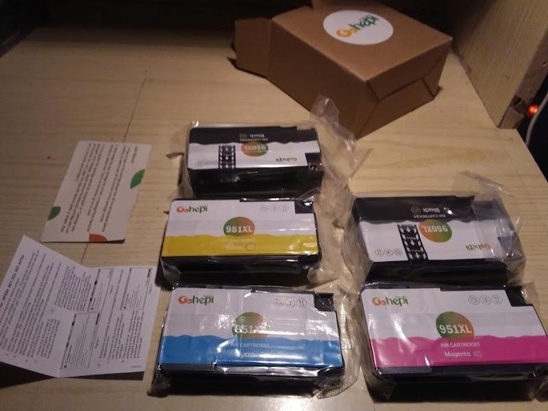 Recensione cartucce Gohepi per HP Office Pro Gohepi10