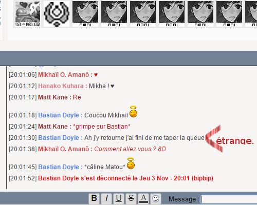 L'Anthologie de la Chatbox. - Page 2 Suspec10