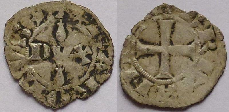 Denier de Charles de Blois (1341-1364) duc de Bretagne ... 1213