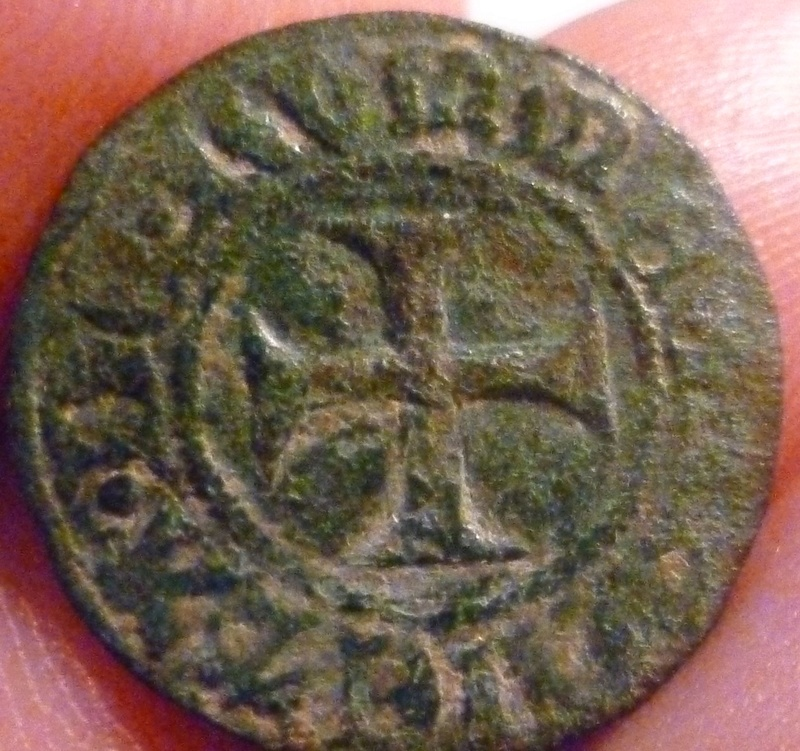 Double mite, ville de Rummen (en Brabant) de Jean II de Wesemael (1427-1435) A13