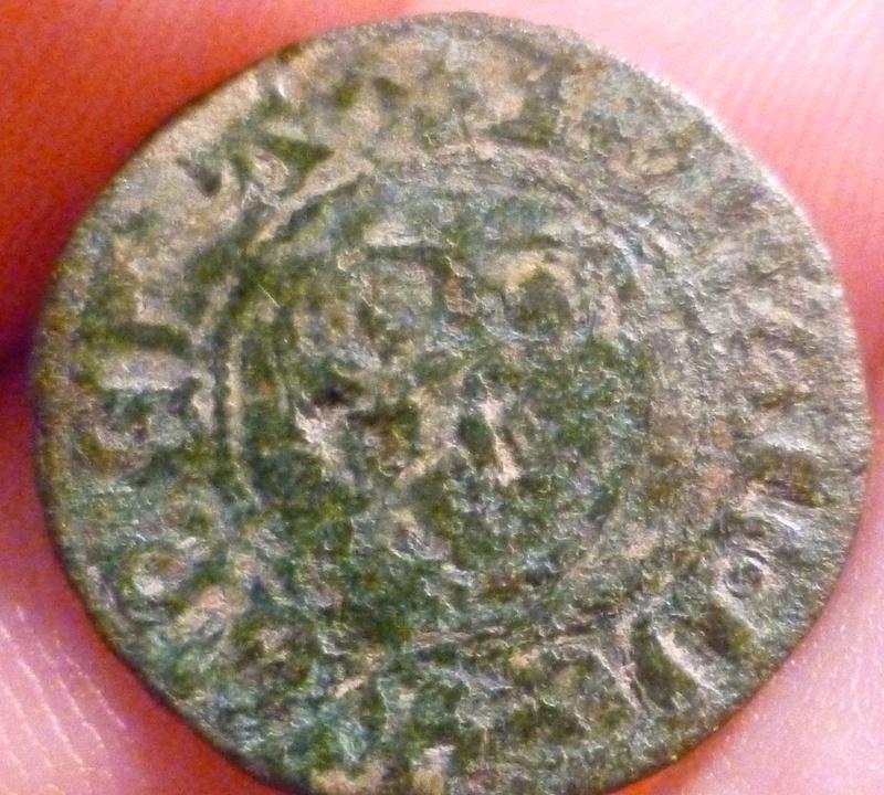 Double mite, ville de Rummen (en Brabant) de Jean II de Wesemael (1427-1435) B10
