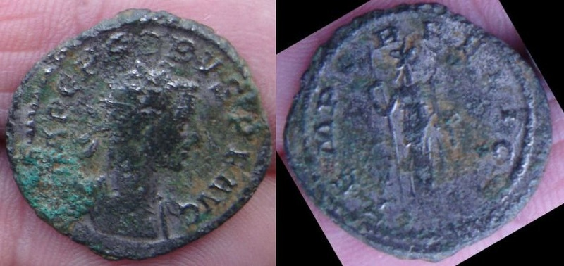 Aurélianus de Probus, TEMPOR FELICI Denier10