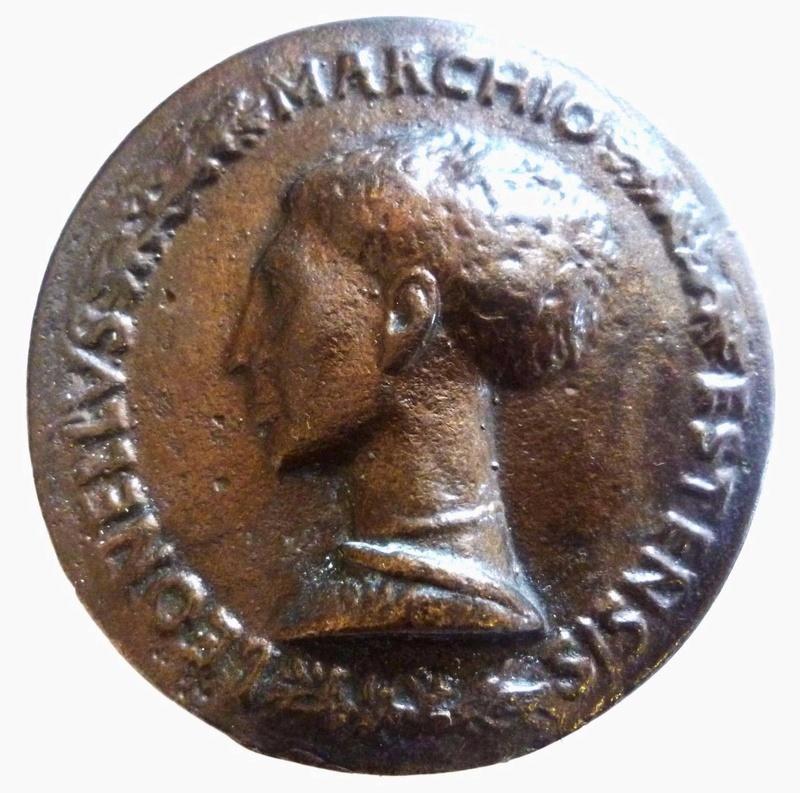 Médaille renaissance italienne Pisanello ? Tete10