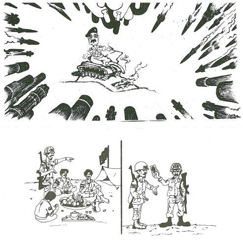 Tracts allies 1ere Guerre du Golfe Irak-610