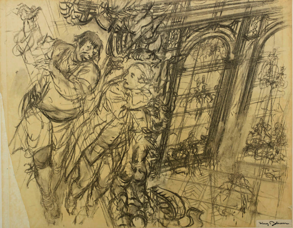 A storyboard for Marie Antoinette Zz12