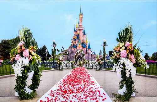 [Mariages] Disney's Fairy Tale Weddings arrive à Disneyland Paris  Weddin12