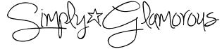 خط Simply Glamorous  - صفحة 2 Untitl25