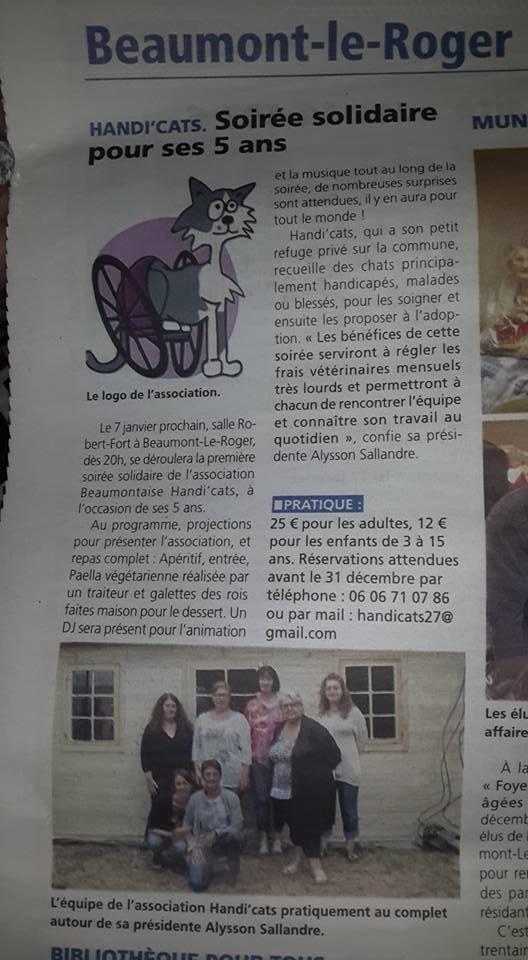 Soirée solidaire - Articles de presse 15894910