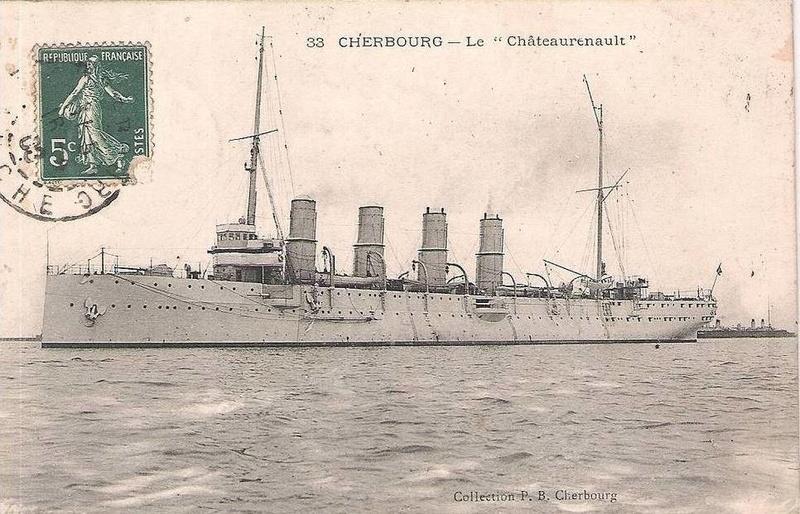 Croiseurs français  - Page 4 Chatea10