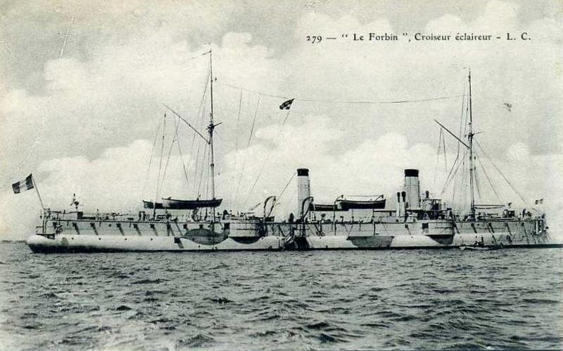 Croiseurs français  - Page 4 Forbin12