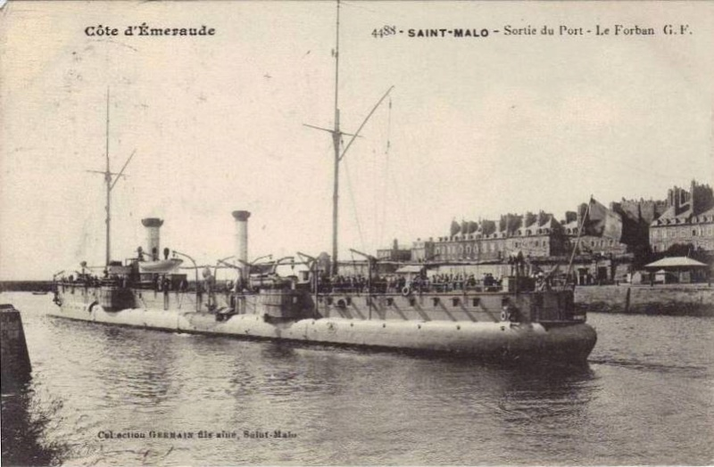 Croiseurs français  - Page 4 Forbin14