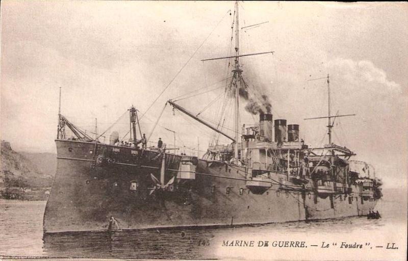 Croiseurs français  - Page 5 Foudre14