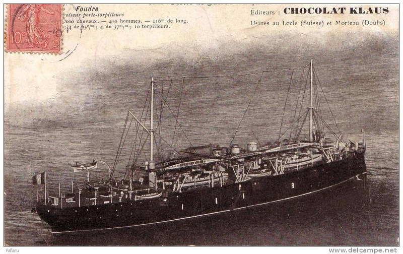 Croiseurs français  - Page 5 Foudre16