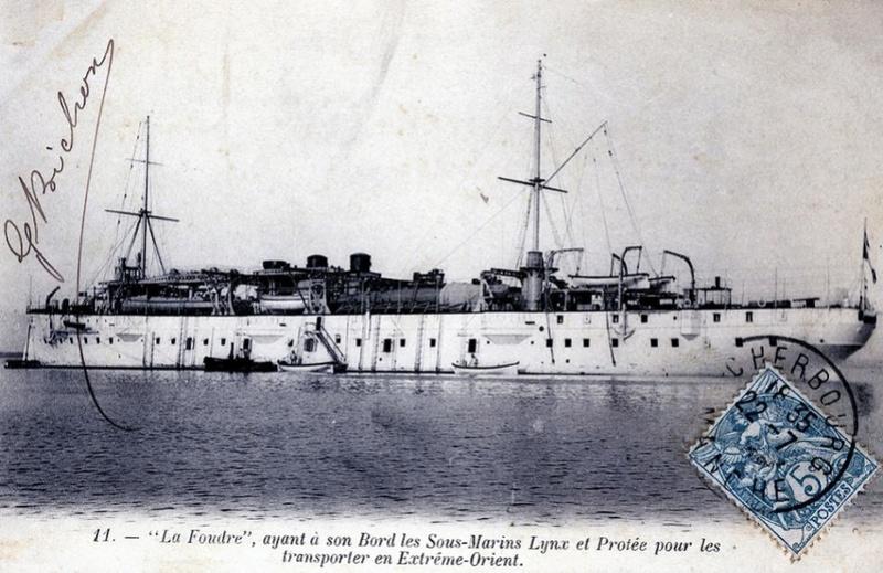 Croiseurs français  - Page 5 Foudre17