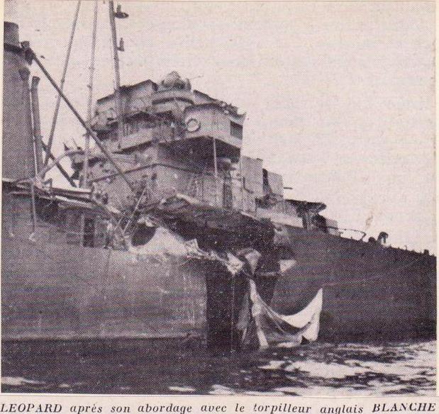 Les contre-torpilleurs français Leopar11