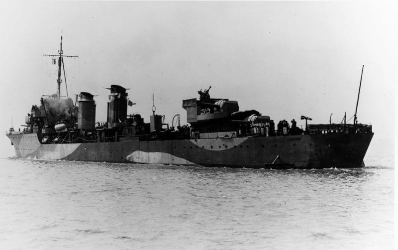 Les contre-torpilleurs français Leopar12