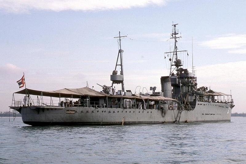 Marine thaïlandaise  Maeklo12