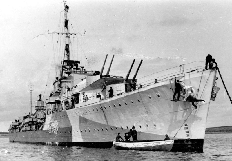 Marine polonaise  Piorun12