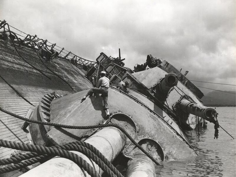 Le 7 décembre 1941,le Japon attaque Pearl Harbor - Page 4 Ussokl10