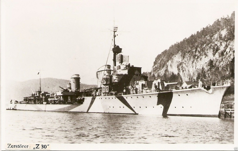 Destroyers allemands - Page 2 Z30_1910