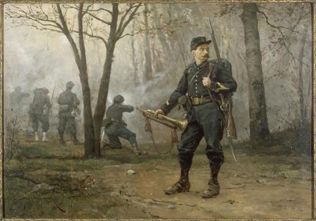 FIN - le sous lieutenant edouard Detaille par BONO Chasse10